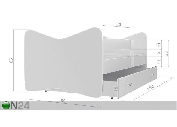 Image of AJK-Meble Lastensänky 80x160 cm
