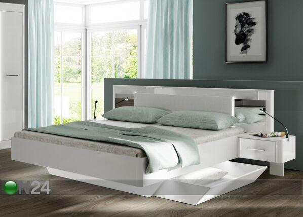 Home Concept Sänky Cristal 180x200 cm + yöpöydät