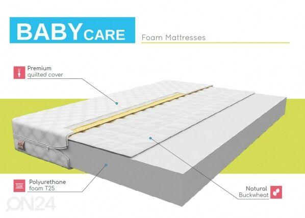Image of FDM Vaahtomuovipatja Baby Care 90x190 cm