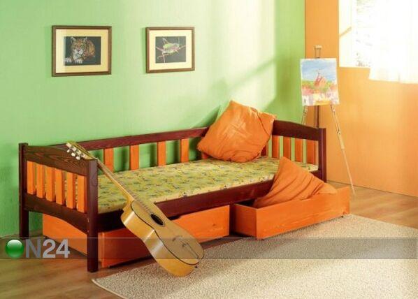 Meblobed Lasten sänkysarja SUSANNA, mänty 80x180 cm