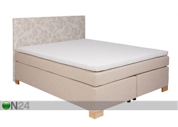 Image of Jenkkisänkysarja POCKET LUXUS 160x200 cm+ sängynpääty