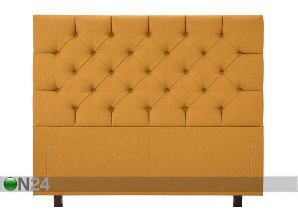 Hypnos Kangasverhoiltu sängynpääty CHESTERFIELD 226x112x12 cm