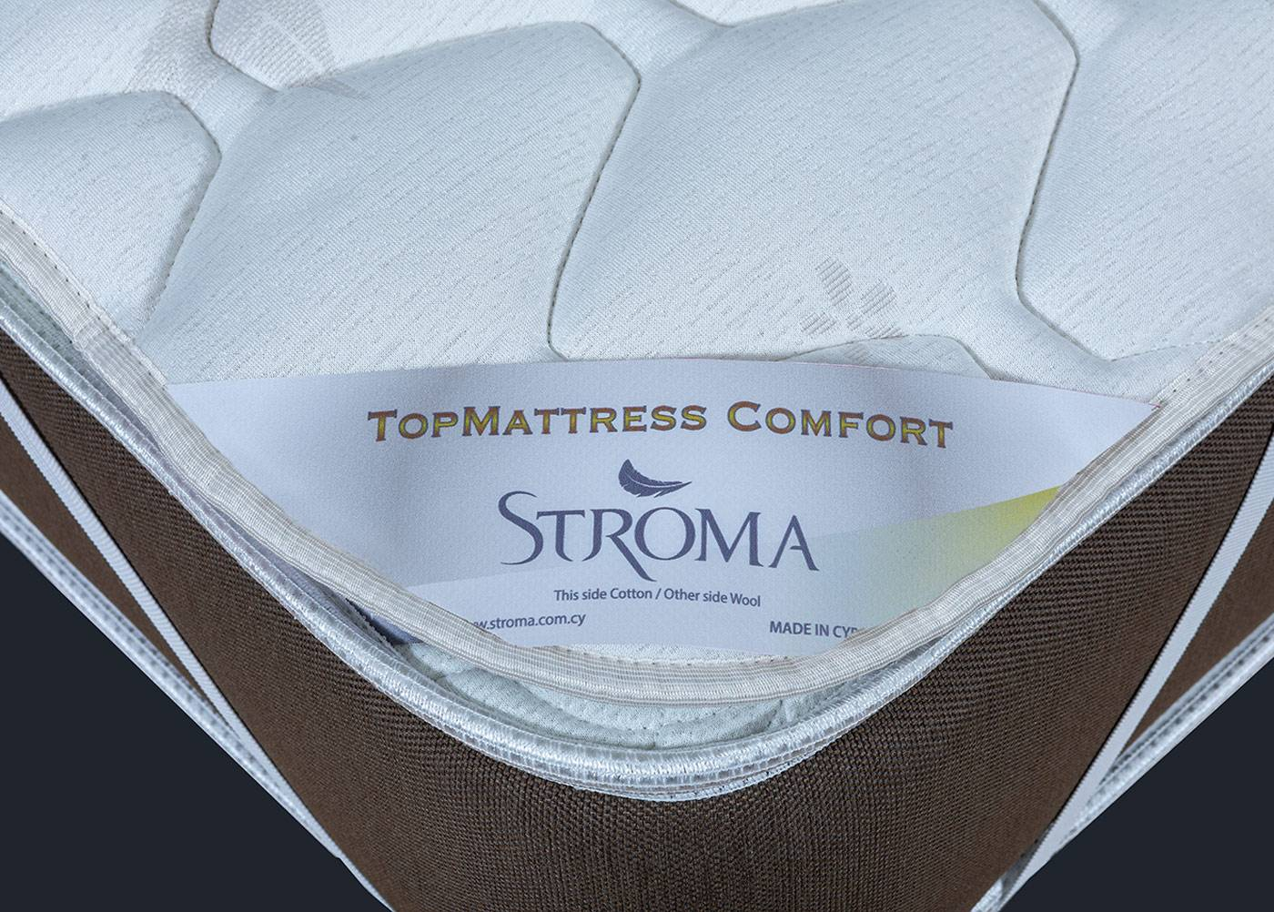 Stroma sijauspatja Top Comfort 200x200 cm