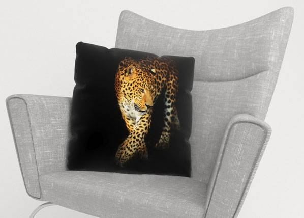 Image of Wellmira Koristetyynyliina BEAUTIFUL JAGUAR 50x50 cm