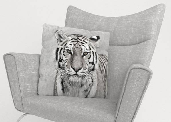 Image of Wellmira Koristetyynyliina BEAUTIFUL TIGER 50x50 cm