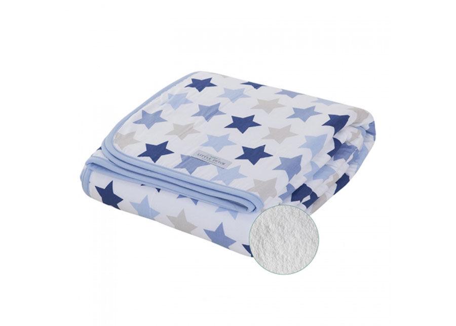Little Dutch Lasten täkki MIXED STARS BLUE 110x140 cm