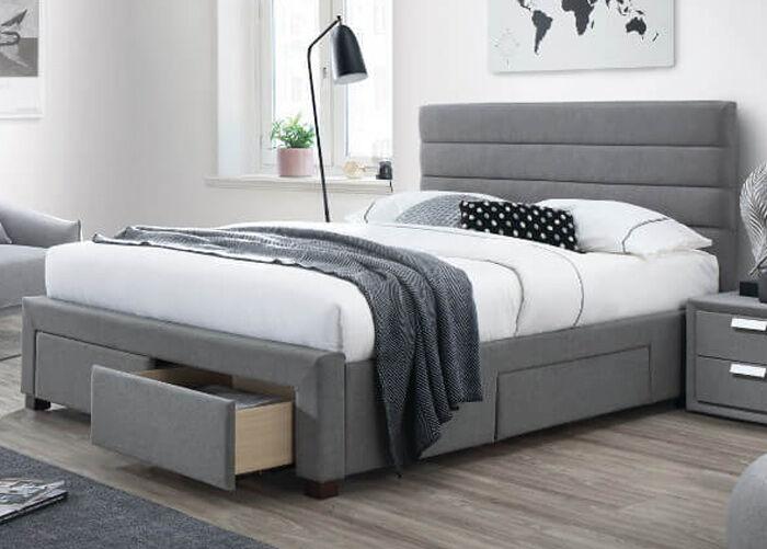 DEES Sänky vuodevaatelaatikolla KAYLEON 140x200 cm