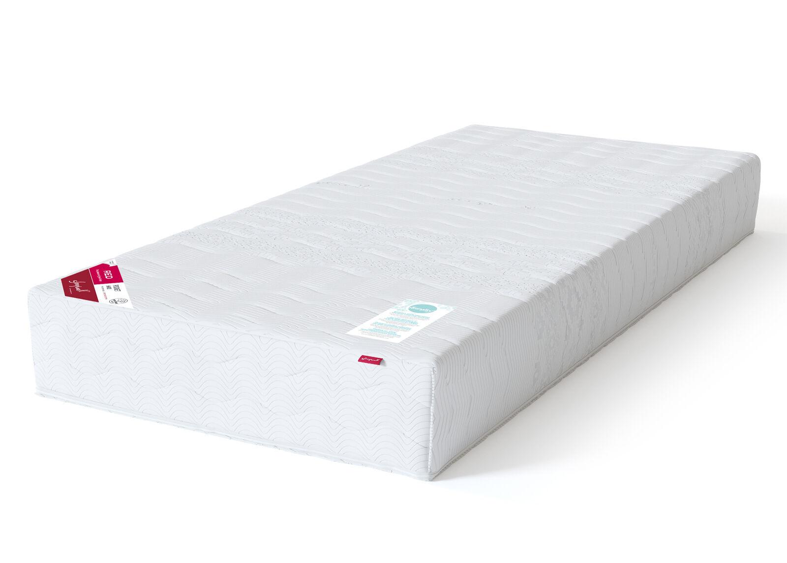 Image of Sleepwell joustinpatja RED Pocket jäykkä 80x200 cm