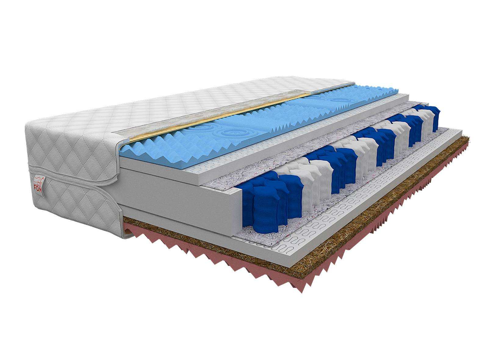 Image of FDM Joustinpatja Ginaso Pocket 160x200 cm