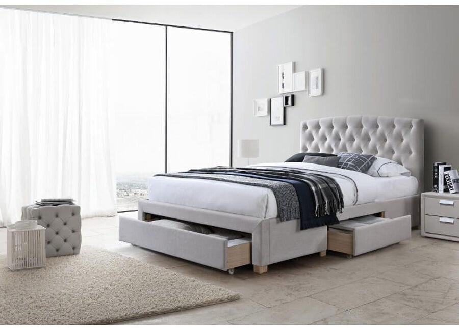 DEES Sänky vuodevaatelaatikolla Alice 160x200 cm