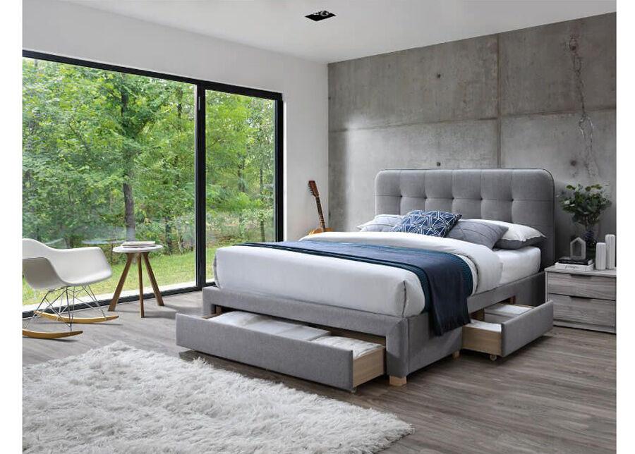 DEES Sänky vuodevaatelaatikolla Jamie 140x200 cm