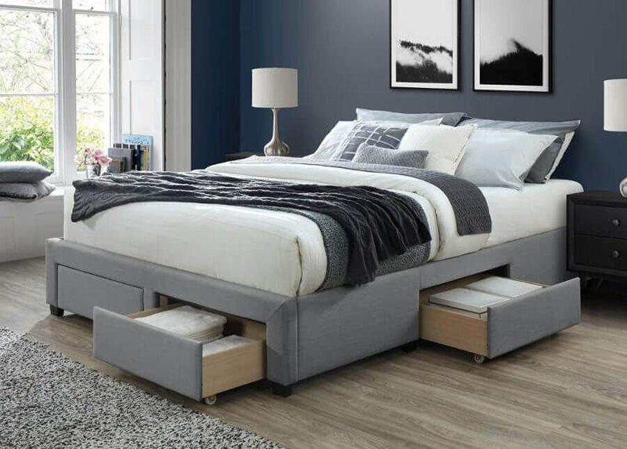 DEES Sänky vuodevaatelaatikolla Cosmo 140x200 cm