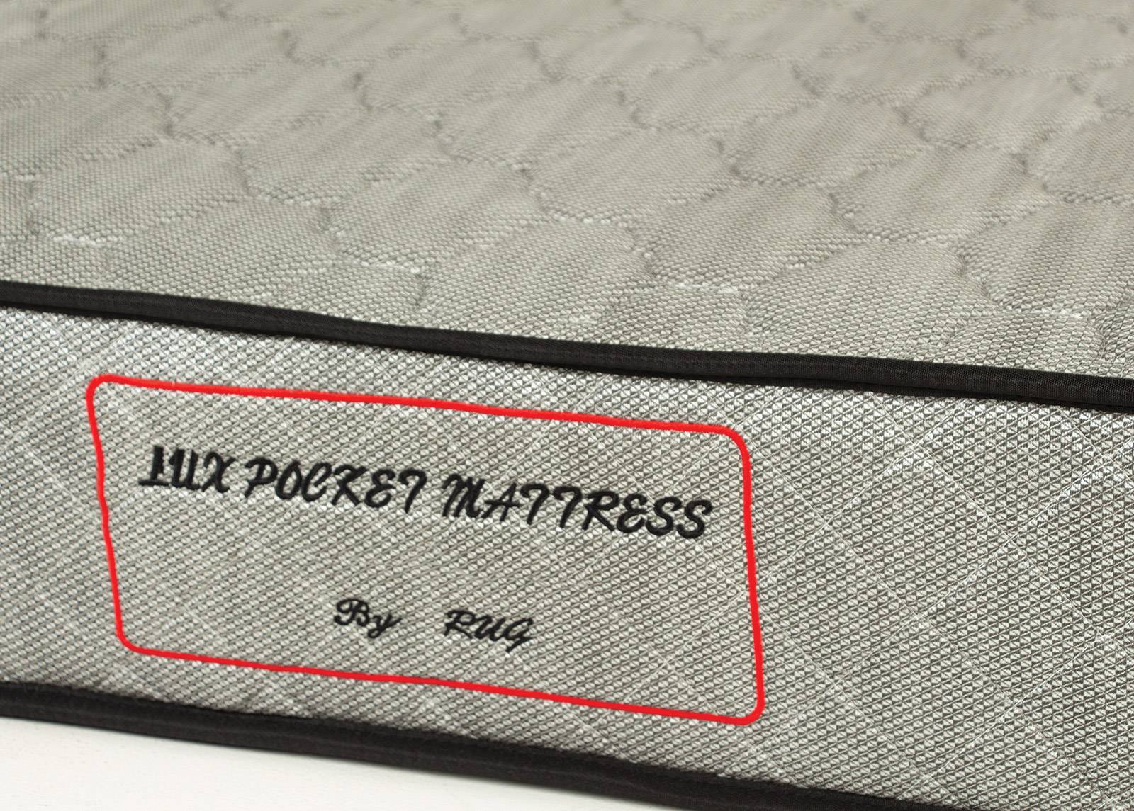 Image of Joustinpatja Lux Pocket Silver 80x200 cm
