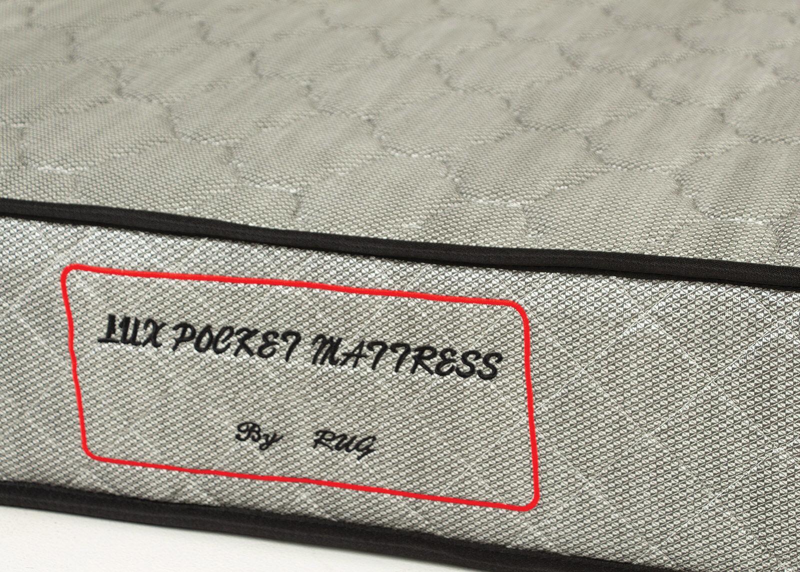 Image of Joustinpatja Lux Pocket Silver 120x200 cm