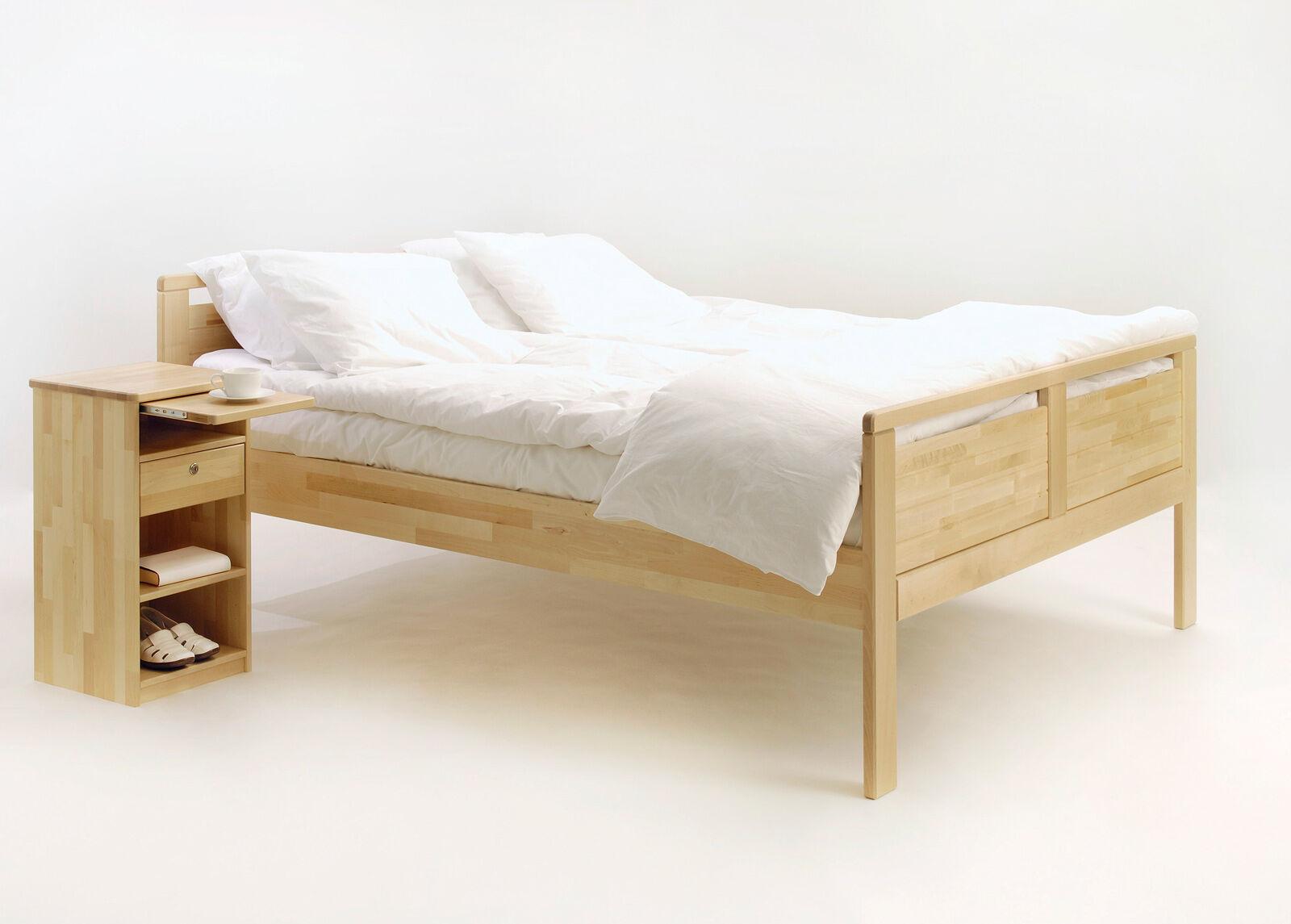 KITEEN Sänky Seniori 120x200 cm, koivu