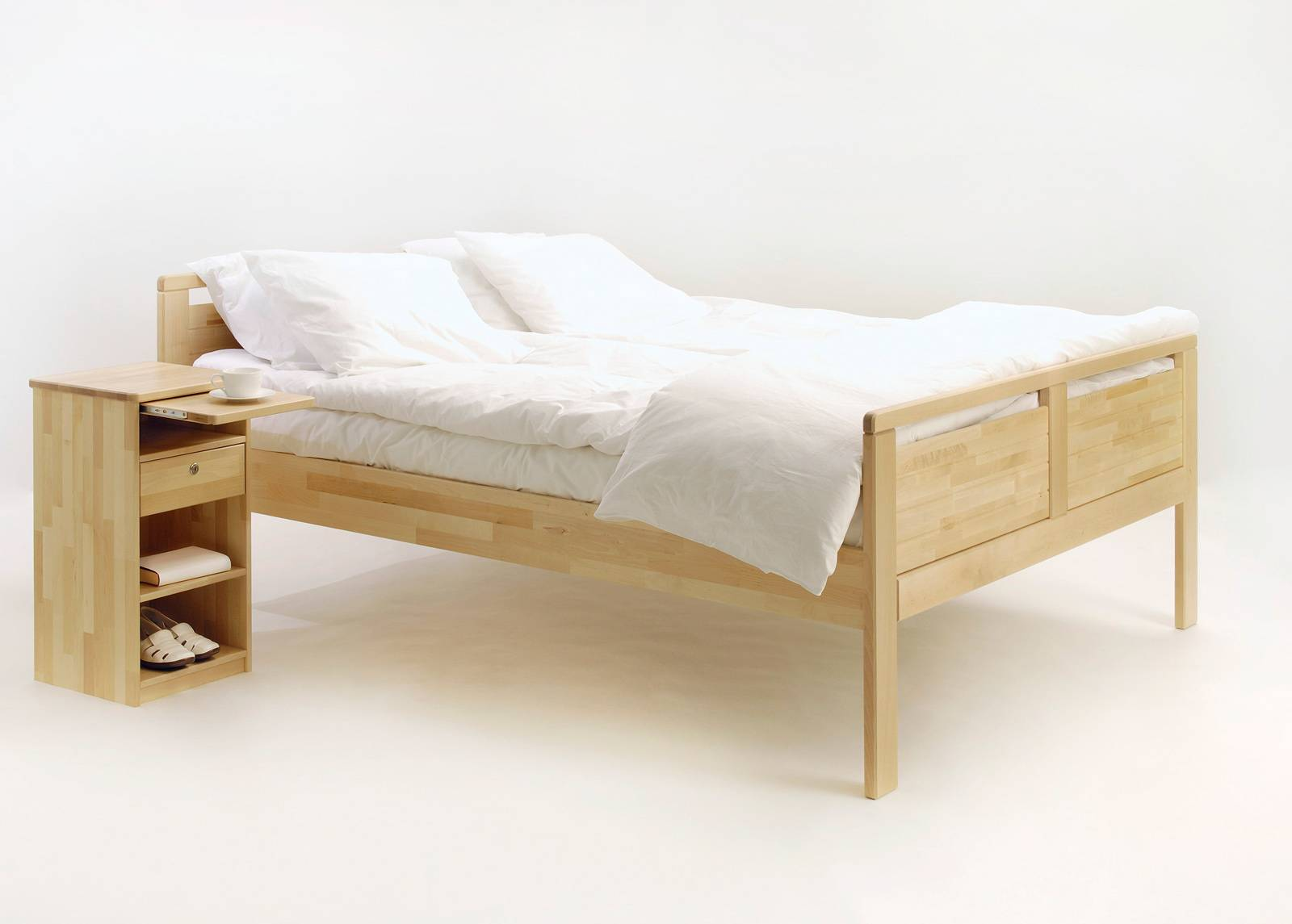 KITEEN Sänky Seniori 160x200 cm, koivu