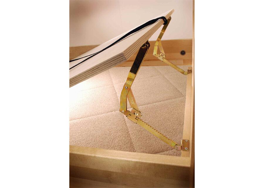 KITEEN Säädettävä sängynpohja SENIORI 80x200 cm