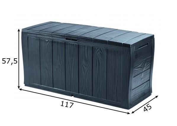 Keter Säilytyslaatikko puutarhaan KETER SHERWOOD 270 L