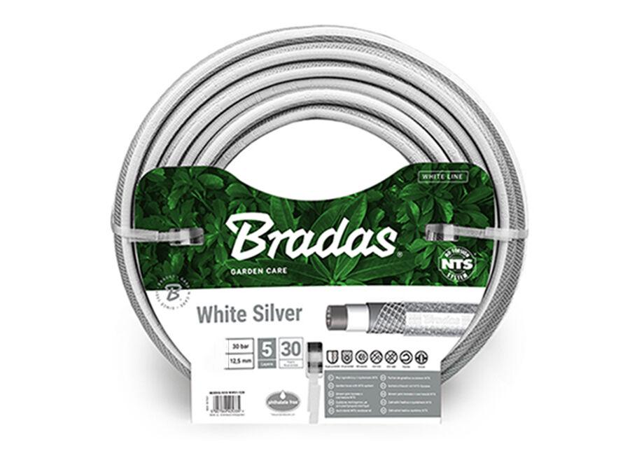 """Bradas Kasteluletku Bradas NTS White Silver 3/4"""""""