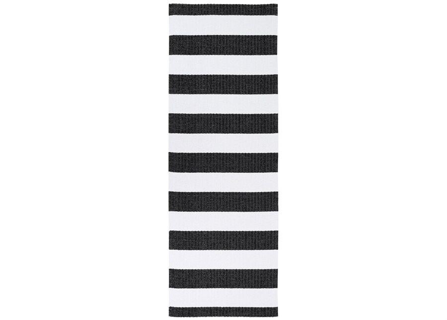 newWeave Narma muovimatto Birkas black-white 70x200 cm