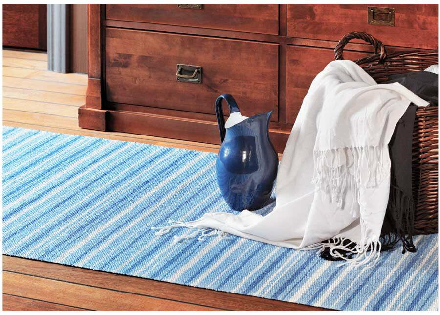 newWeave Narma muovimatto Hullo blue 70x200 cm