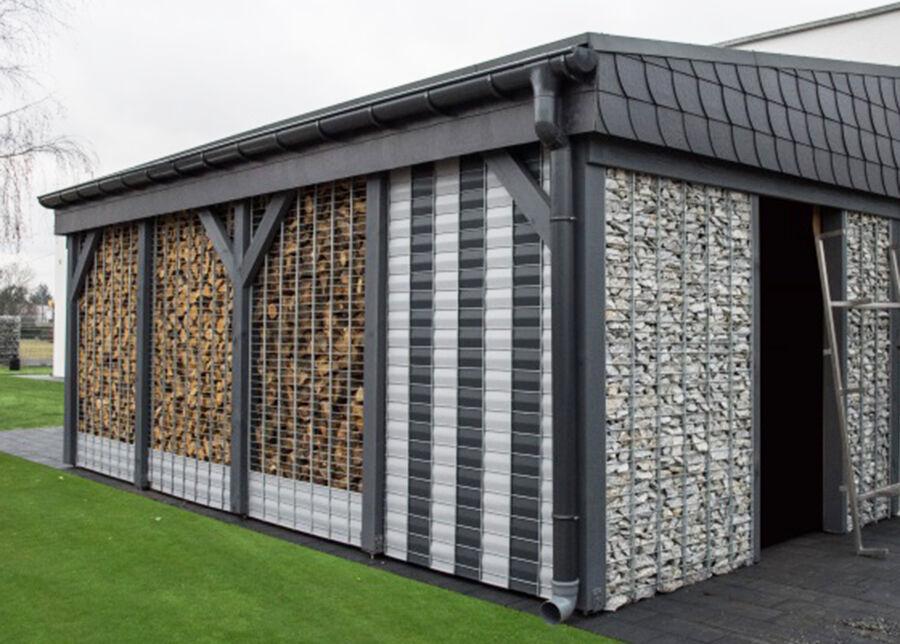 Bradas Puutarhaverkko Bradas Wall 1200 g/m², 26 m