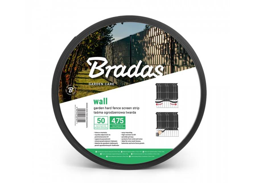 Bradas Puutarhaverkko Bradas Wall 1200 g/m², 50 m