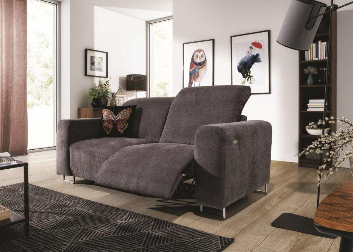 Stagra Recliner 2-istuttava sohva jalkatukimekanismilla Lotta