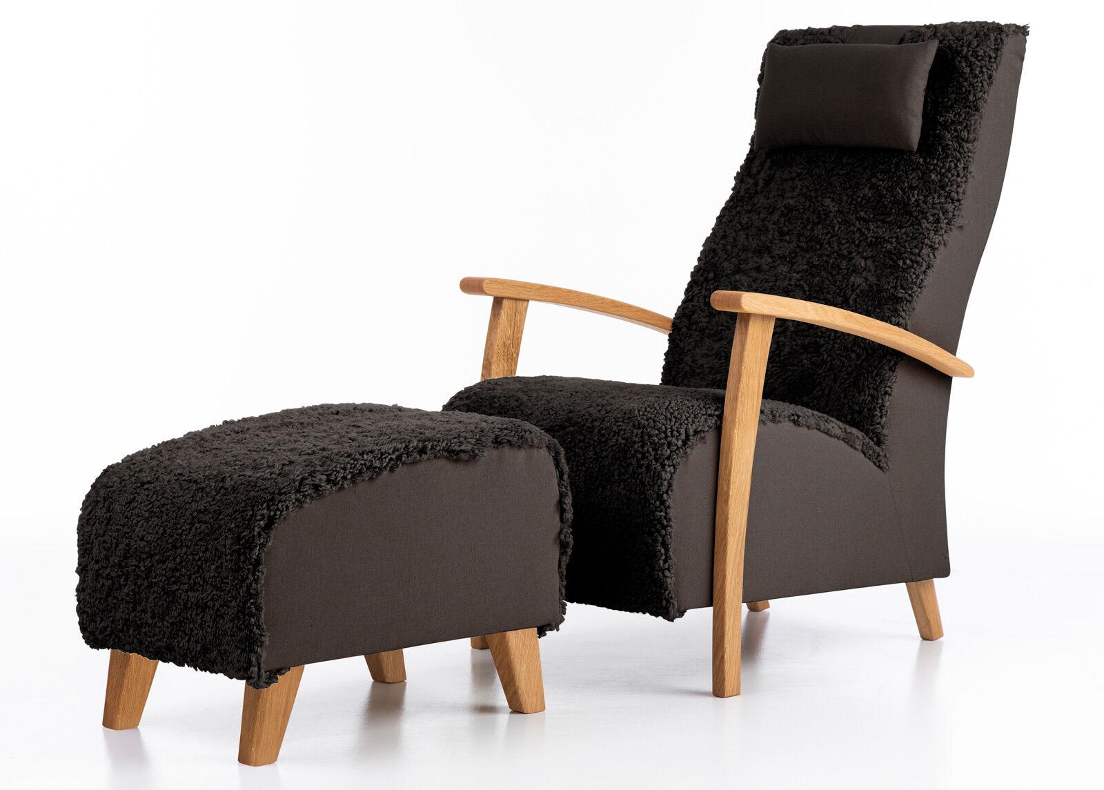 Võru Empak Nojatuoli aidolla lampaannahalla Wiivi + rahi