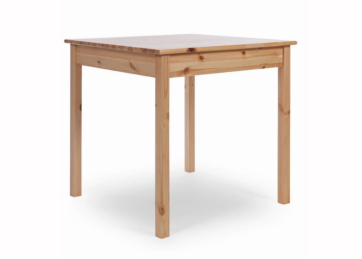 LASVA Ruokapöytä SUME 75x75 cm