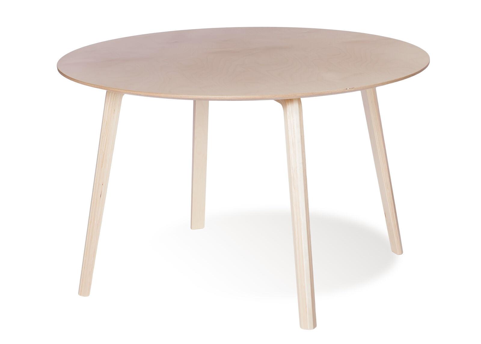 TARMEKO NORDIC Ruokapöytä MILONGA Ø 120 cm (luonnollinen koivu)