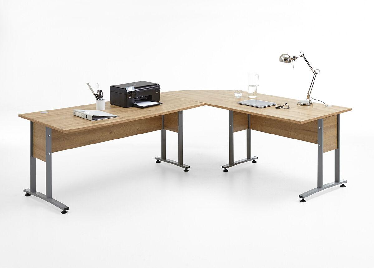 FMD Nurkkatyöpöytä CALVIA 240x200 cm