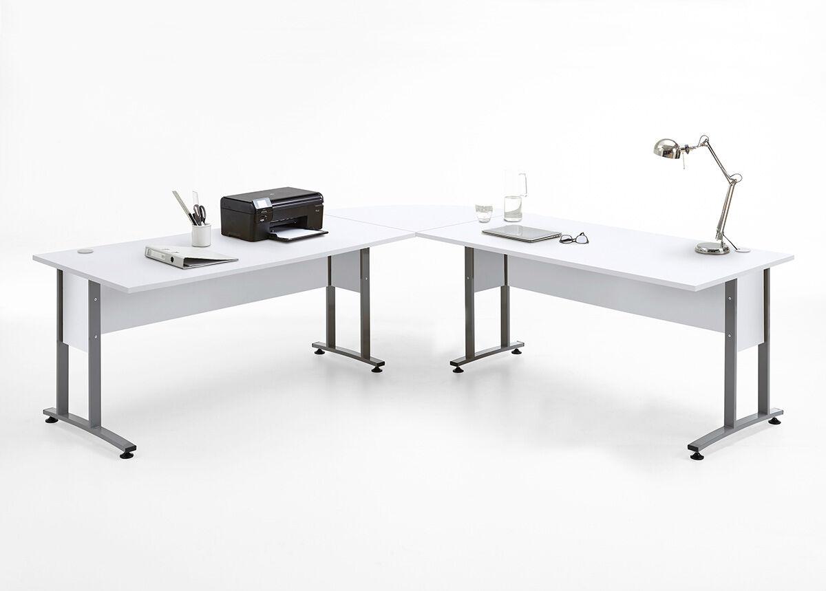 FMD Nurkkatyöpöytä CALVIA 240x240 cm