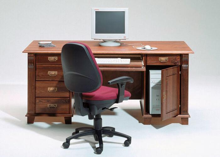 LASVA Työpöytä MONACO, mänty