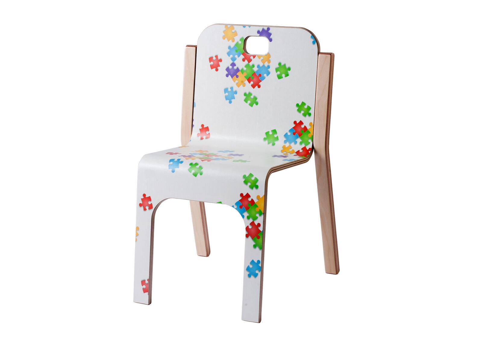 TARMEKO KIDS Lasten tuoli TOMMY 3 PUZZLE h 57/35 cm