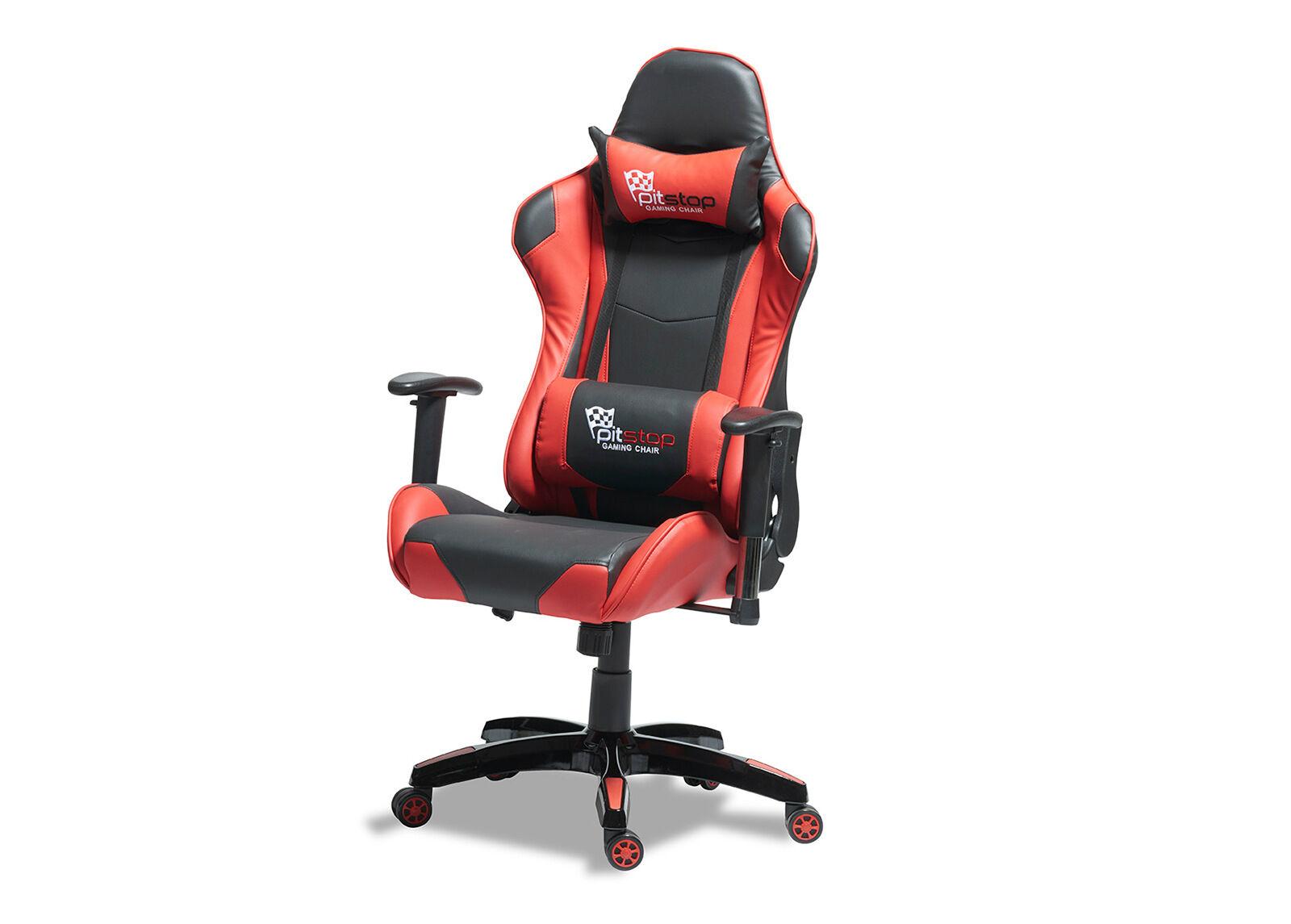 Furnhouse Työtuoli Gaming, punainen/musta