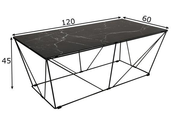 rge Sohvapöytä Cube 120x60 cm