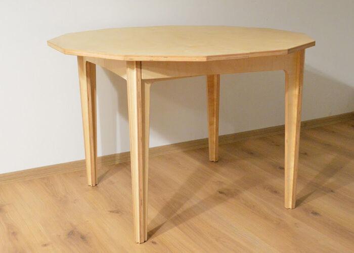 Meierstone Jatkettava ruokapöytä 114-180x108 cm