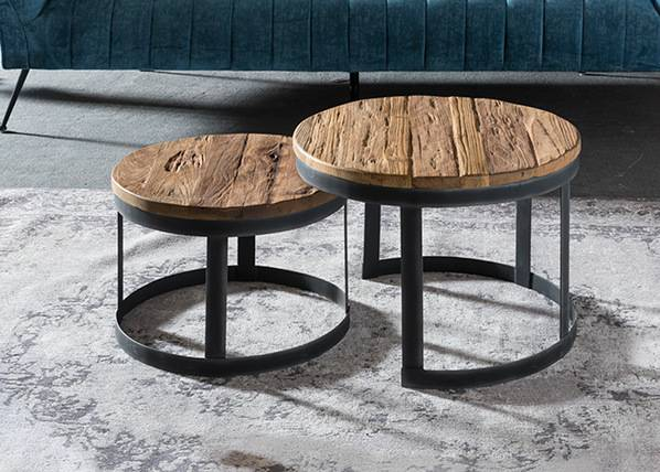 SIT Möbel Sohvapöydät Romanteaka, 2 kpl