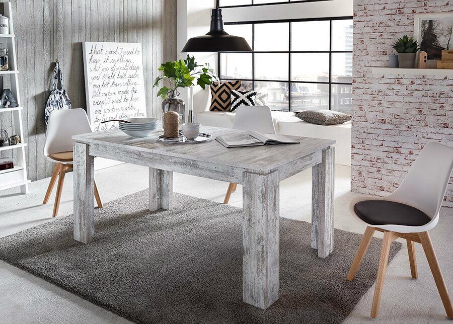 TRENDTEAM Jatkettava ruokapöytä Trendteam 160-200x90 cm