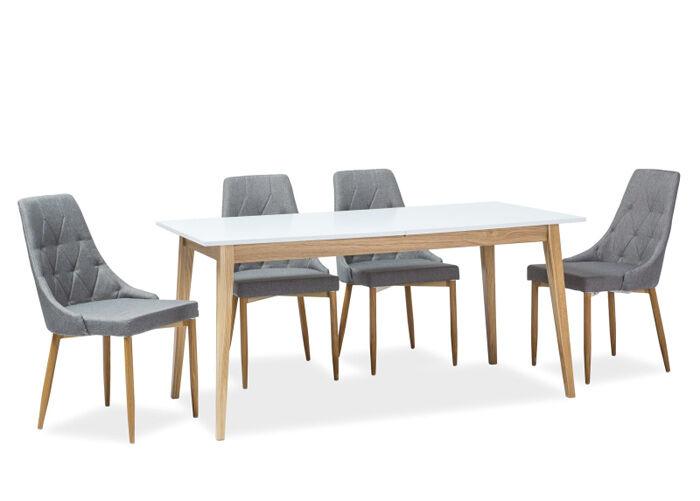 Image of Signal Jatkettava ruokapöytä Cesar 80x160-205 cm