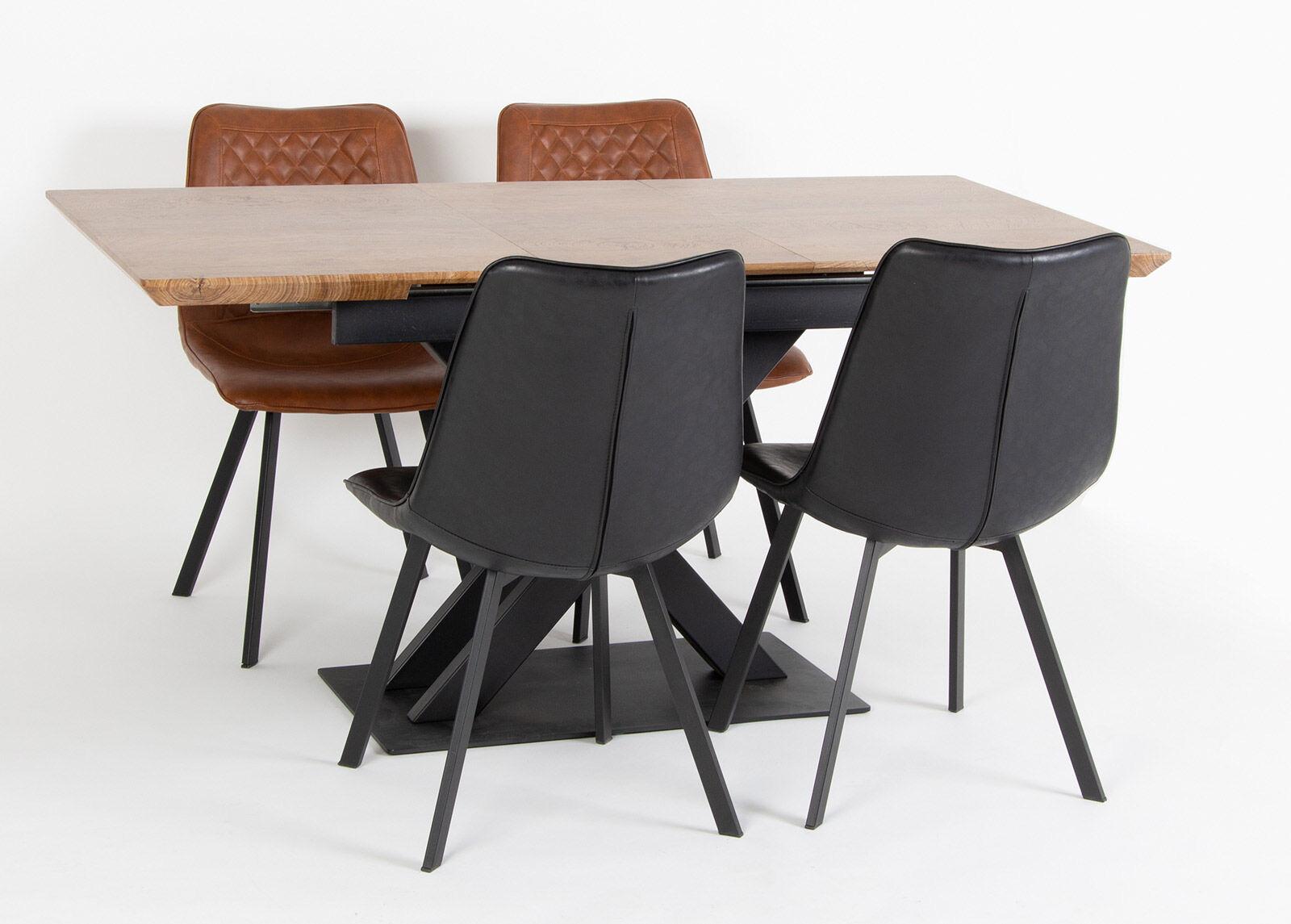 Image of Jatkettava ruokapöytä 120/160x80 cm
