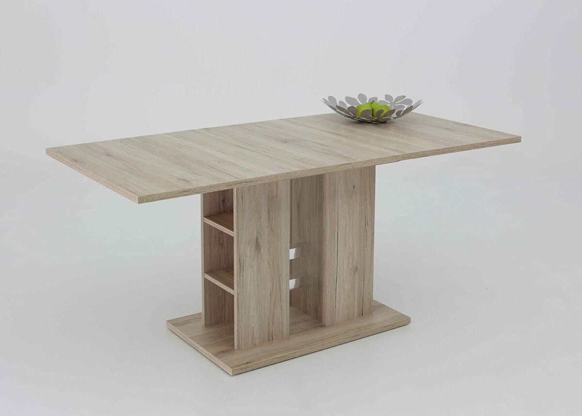 HELA Jatkettava ruokapöytä STEFFI 80x120-160 cm