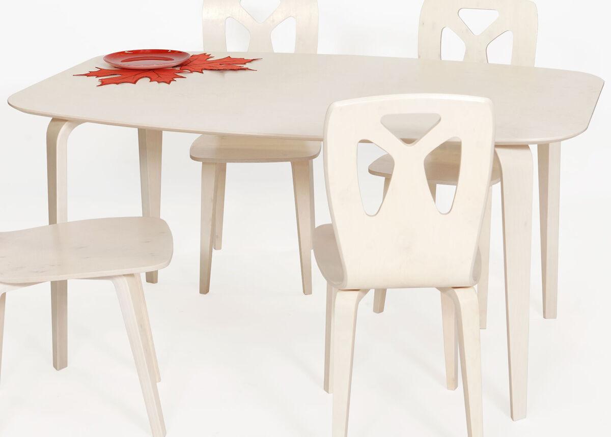 TARMEKO NORDIC Ruokapöytä KARJALA 95x150 cm