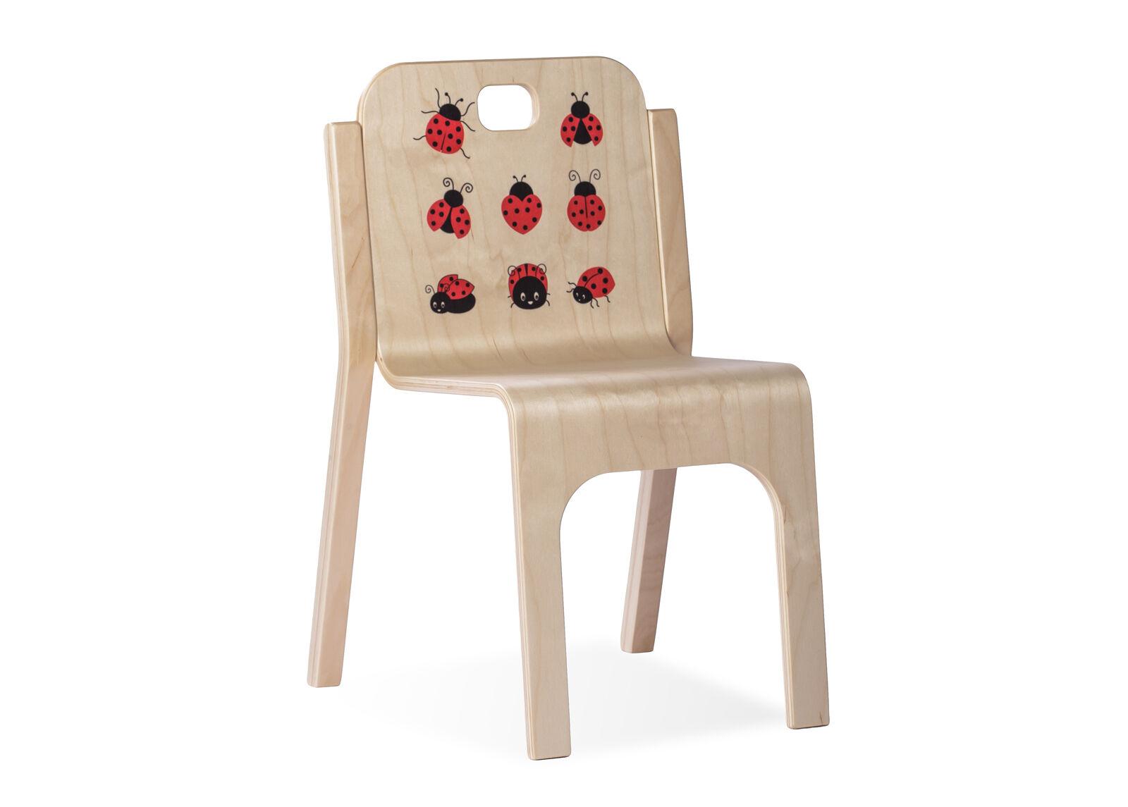 TARMEKO KIDS Lasten tuoli TOMMY 2-leppäkerttu