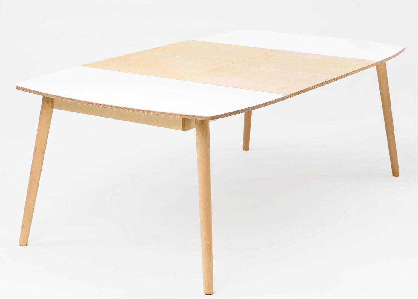 Radis jatkettava ruokapöytä Nam-Nam 120x120-220 cm