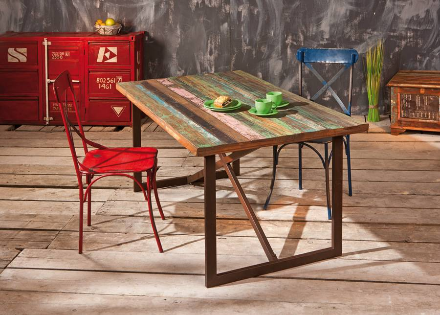 InterLink Ruokapöytä Colori 160x90 cm