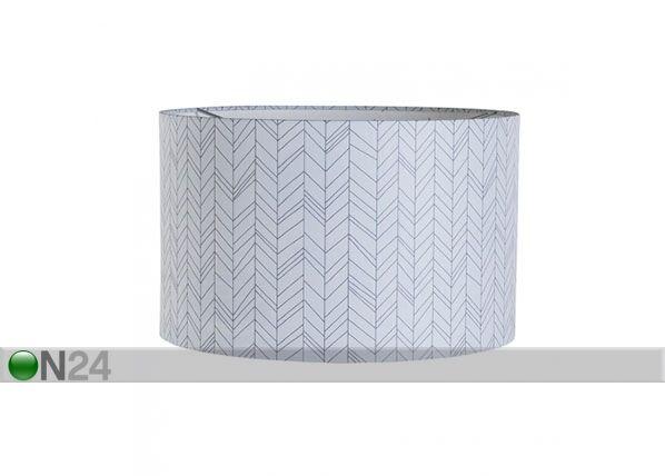 Little Dutch Design kattovalaisin WHITE LEAVES