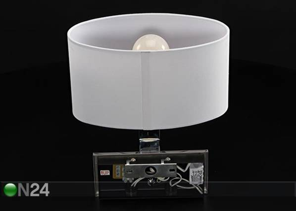 Deko-Light Seinävalaisin ROBERTA LED lukuvalolla