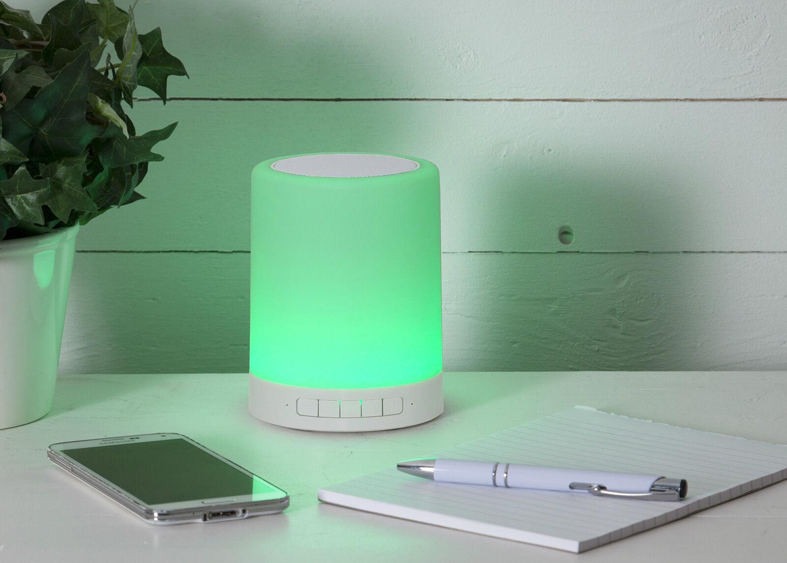 Star Trading Kaiutin+LED valaisin kosketustoiminnolla